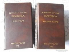 K MÁTYUS ISTVÁN : DIAETETICA I. II. 1762 - 1766 ORVOSI KÖNYV