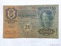 20 Korona 1913  !! 2-ik kiadás !! ( 2 )