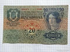 20 Korona 1913  Első kiadás !!  ( 2 )