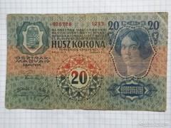 20 Korona 1913  Első kiadás !!  ( 3 )