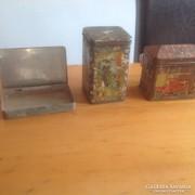 Antik fém dobozok