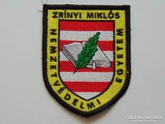 Zrinyi Miklós nemzetvédelmi egyetem karjalzés