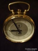 Art decó Tri-ton schwaiger két szólamú csörgős óra ritkaság