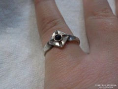 Onix köves régi ezüstgyűrű