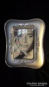 Ezüst képkeret jelzett, Made in Italy Stilarte