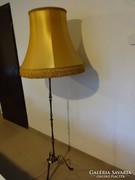 Réz állólámpa nagy búrával