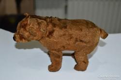 Felhúzható medve figura