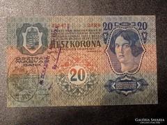 20 korona 1913 Xf