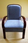 Régi, retro, antik, art deco fotel