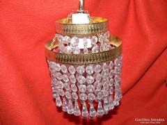 Dupla kristály falikar fali lámpa