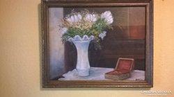 Bíró Lajos Csendélet festmény