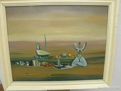 Festmény , Guti József Soma alkotása
