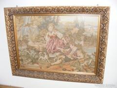 Barokk jelenetet ábrázoló falikép
