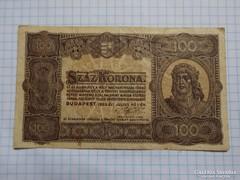 Szép 100  Korona 1923 !!