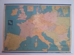 KIÁRUSÍTÁS! Hatalmas térkép 127*91 cm