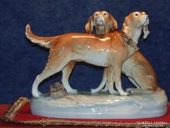 Royal Dux kutyapáros