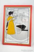 Tükörkép, tükrös kép impresszionista stílusban