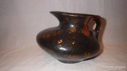 G.M. formatervezett retro kerámia váza dísztárgy