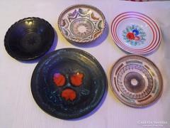 Fali tányérok (5 db)