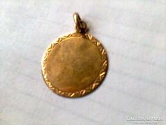 Antik arany medál