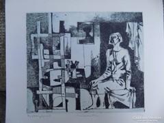 Túry Mária: Műteremben