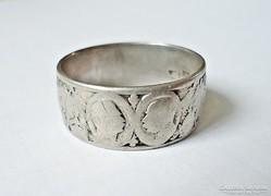 I. világháborús viribus unitis ezüst gyűrű
