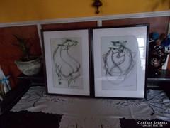 Két  Macskássy Tus   rajz .