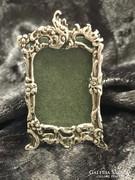 Ezüst miniatűr képkeret