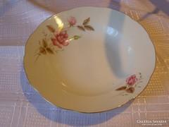 Rózsás régi tányér