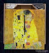 Üveg falióra - Klimt :