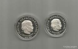 1968 Semmelweis 50-100 Ft, ezüst