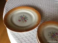 1 nagy +6 sütis kispesti porcelán