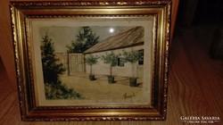 Neogrady akvarell