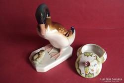 Eladó Royal Dux porcelán + Herendi viktória bonbonier