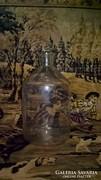 Hatalmas gyógyszerészeti üveg palack.