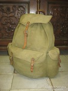 Antik, favázas hátizsák