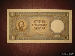 100 dinár 1943
