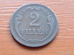 2 FILLÉR 1934 BP.