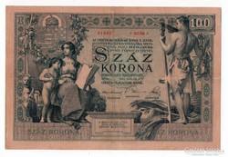 1902 100 korona VF.
