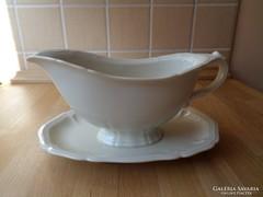 Régi Johann Haviland Bavaria porcelán szószos kínáló