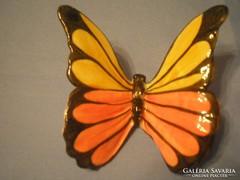 N2 Gmundnem egyedi porcelán nagy pillangó ritkaság