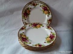 Royal Albert sütis tányér 6db. 4.