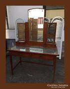 Gyöngyház berakásos,fésülködő vagy íróasztal székkel