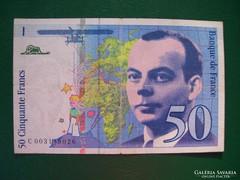 Franciaország 50 Francs 1992.