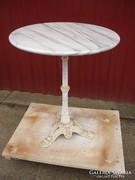 Öntöttvas asztal márványlappal(02)