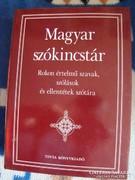 Magyar szókincstár könyv