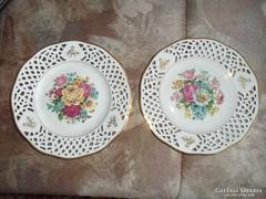2 sb rózsás Bavaria Arabella dísztál