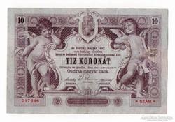 1900 10 korona VF.