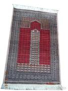 Szignós Pakisztáni kézi csomózású gyapjú szőnyeg 95x63