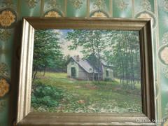 Olaj-vászon festmény...50*40 cm